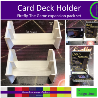 Card Deck Holder Main Pic Firefly expansion set