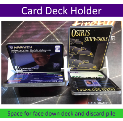 Card Holder face down and discard pic Firefly set